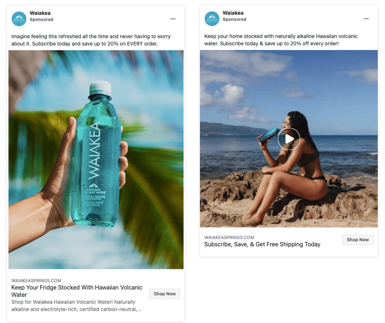 Waiakea grew brand awareness in a busy market with educational content
